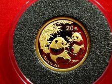 China 2006, WWF Panda 1/20oz 20 Yuan Gold, UNC (10050)
