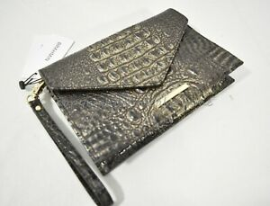 Brahmin Sara Leather Clutch/Wristlet Pick your color Inventory Updated Regularly