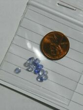Sapphire 3.00 Carats 12 Faceted Blue Eye Clean Slight Natural Inclusions