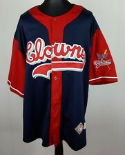 Indianapolis Clowns Jersey Men's Size XXL Negro Leagues Baseball Museum Shirt