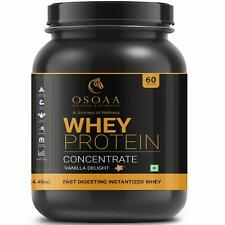 Osoaa 100% Whey Protein Concentrate Powder 24.8g Protein, 4.9g BCAA (2KG)