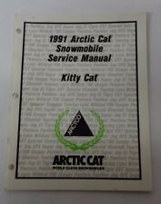1991 Arctic Kitty Cat Service Manual Oem