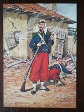 POSTCARD FRENCH FOREIGN LEGION - LEGIONNAIRE CAMERONE MEXIQUE 1863