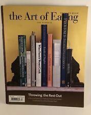 The Art of Eating Edward Behr #79 Magazine 2008 French & Italian Cookbooks List