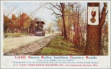 Advertising: Case Steam Roller, JI Case Threshing Machine Co., Racine, WI Pre-20