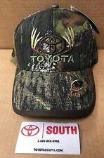 NEW TOYOTA MOSSY OAK FIELD STAFF  CAMO CAP HAT ANTLERS 4x4 ADULT SIZE
