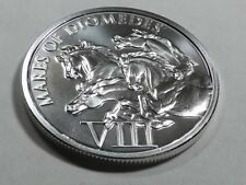 New listing 1 troy oz. pure .999 silver -Mares of Diomedes- 12 Labors of Hercules
