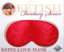 RED Satin Mask Sleep Blindfold Eye Cover Shade Valentines