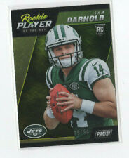 2018 Panini Player Of The Day Sam Darnold #ed 10/50 ROOKIE JETS