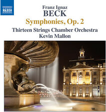 Beck / Thirteen Strings / Mallon - Symphonies Op. 2 [New CD]