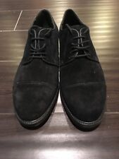 BRAND NEW ALFANI Men Shoes, Black Suede leather, Size 8 US