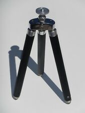 Vintage Kürbi & Niggeloh Bilora Biloret Telescoping Travel Tripod Model #1007K