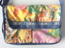 LeSportsac Everyday Bag Crossbody Shoulder Bag Light Blue Floral Summer/Spring