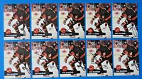 LOT OF 10 JIM SANDLAK SIGNED HOCKEY CARDS ~ PRO SET ~ 100% GUARANTEE