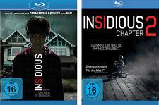 2 Blu-rays * INSIDIOUS + INSIDIOUS: CHAPTER 2 # NEU OVP +<