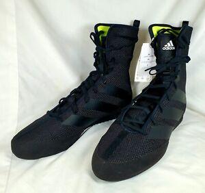 adidas Box Hog 3 Mens Boxing Shoes Black Combat Boxing Boots
