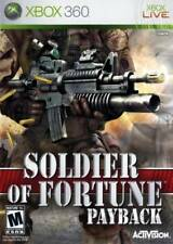 Soldier of Fortune: Payback Xbox 360 New Xbox 360, Xbox 360