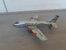 VINTAGE 1950s Tin Toy battrey AAL-7 American Airlines TIN TOY MADE IN JAPAN