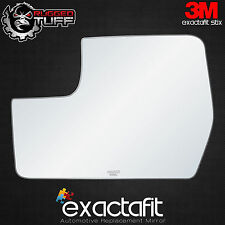 exactafit 2011-2014 Ford F-150 Driver's Lower Replacement Side Mirror Glass Flat