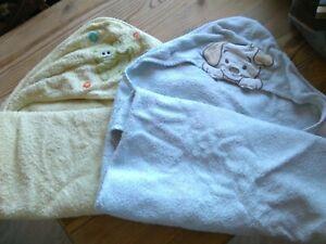 Baby Pflege Baden KAUF mehr ZAHL weniger!  2 x Kapuzenbadetuch