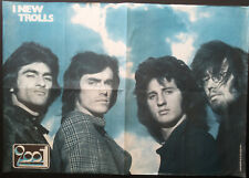POSTER ORIGINALE SUPPLEMENTO CIAO 2001 1971 NEW TROLLS PROGRESSIVO ITALIANO