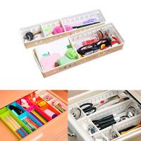 Adjustable New Drawer Organizer Kitchen Board Divider Makeup Stor Supply