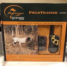 SportDOG Field Trainer 400 Yard Range Dog Remote Collar Training NIB