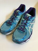 Asics Women's Gel Flux 2 Running / Athletic Shoes, Teal / Purple T568Q, size 9