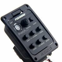 Fishman Preamps Pickups for acoustic Guitar Preamp Pickup System Press Blend 301