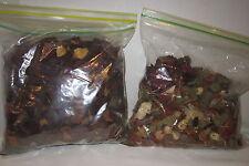 2 large bags of vintage dried rose & misc .flower petals- weddings,etc. 8 ounces