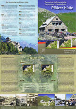 BRD 2012: Pfälzer Hütte! Erinnerungsblatt Nr. 2940 plus Parallelausgabe! 1704