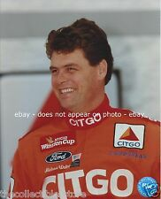 MICHAEL WALTRIP CITGO WOOD BROTHERS FORD NASCAR WINSTON CUP 8 X 10 PHOTO #01