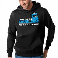 Come to the Dark Side We have Cookies Kult Fun Kapuzenpullover Hoodie Sweater