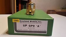Mee-Maw Overland up Union Pacific gp9a diesellok h0 sin pintar