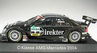 MINICHAMPS - AMG Mercedes-Benz C-Class - DTM 2004 Paffett - 1:43 - B66962210 NEU