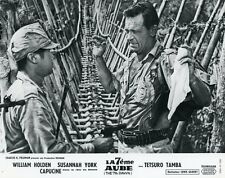 WILLIAM HOLDEN  THE 7th DAWN 1964 VINTAGE LOBBY CARD #2