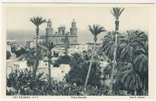 PUERTO DE LA LUZ - Las Palmas - Canary Islands - Vista Parcial - c1930s postcard