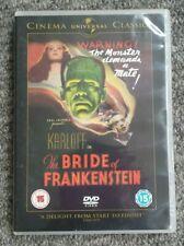 The Bride of Frankenstein DVD starring Karloff