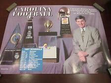 NCAA  NORTH CAROLINA 1997 FOOTBALL SCHEDULE & ACCOLADES POSTER 17X23