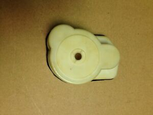NICE VINTAGE TRAXXAS SLEDGEHAMMER HAWK WHITE GEAR COVER PART# 1884