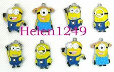 50 Pcs Minion Design Metal Charms DIY Jewellery Pendant Earring MC-25