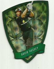 Cricket Australia Select 2009/10 DIE CUT FDC32 DAVID HUSSEY ODI TEAM CARD ACB