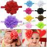 Lace Flower Kids Baby Girl Toddler Headband Hair Band Headwear Accessories