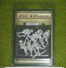 GREAT War Miniatures British Infantry in ANTIGAS 1918 B4