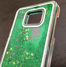 For Samsung Galaxy Note 5 - HARD SKIN CASE Flowing Waterfall Liquid Sparkle Star