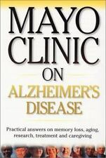 Mayo Clinic on Alzheimer's Disease, Ronald Peterson M.D., 1893005224, Book, Good