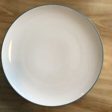 "New Noritake Colorwave Turquoise 8093 12"" Round Platter Chop Plate 537"