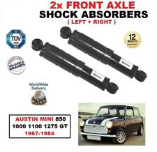FRONT LEFT + RIGHT SHOCK ABSORBERS for AUSTIN MINI 850 1000 1100 1275 GT 1967-84