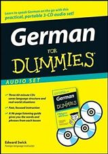 German For Dummies Learn to Speak Basic Easy German Language Beginner Audio CD