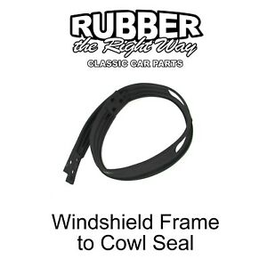 1955 - 1975 Jeep Windshield Frame to Cowl Seal